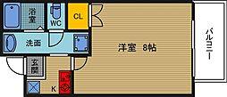 ARIBA豊崎[2階]の間取り