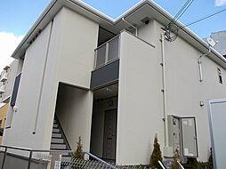 大阪府吹田市尺谷の賃貸アパートの外観