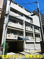 大阪府高槻市城北町2丁目の賃貸マンションの外観