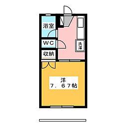 サンハイツモリ[2階]の間取り