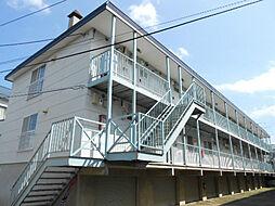 北海道札幌市清田区北野五条5丁目の賃貸アパートの外観