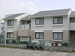 京都府京都市右京区太秦安井水戸田町の賃貸アパートの外観