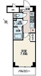 パークアネックス[4階]の間取り