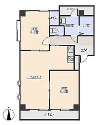 ビレッジ和志山一番館[2階]の間取り