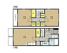 [タウンハウス] 埼玉県さいたま市岩槻区大字南辻 の賃貸【/】の間取り