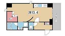 兵庫県神戸市灘区永手町3丁目の賃貸マンションの間取り