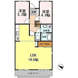 オースター5番館[5階]の間取り