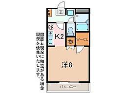ハイツ太田[1階]の間取り