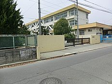 八王子市立散田小学校まで580m
