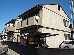 京都府城陽市平川鍛冶塚の賃貸アパートの外観