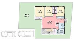[一戸建] 福岡県糸島市二丈深江 の賃貸【/】の間取り
