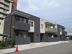 大阪府門真市四宮2丁目の賃貸アパートの外観