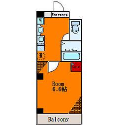 ファミーリオ錦糸[4階]の間取り