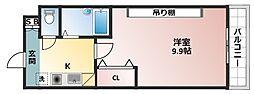 桜ヶ丘晴楽館[5階]の間取り