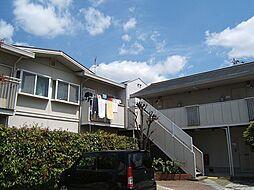 京都府宇治市菟道門ノ前の賃貸アパートの外観