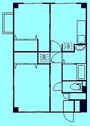 レフォール登戸[1階]の間取り