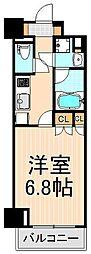 コンフォリア浅草橋[405号室]の間取り