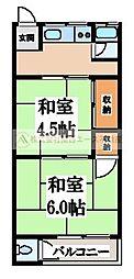 [一戸建] 大阪府堺市北区黒土町 の賃貸【/】の間取り