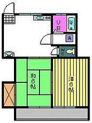 チェリーハウス[3階]の間取り