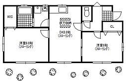 [一戸建] 東京都国立市青柳 の賃貸【/】の間取り