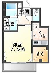 仮)神戸市長田区二葉町マンション 1階1Kの間取り