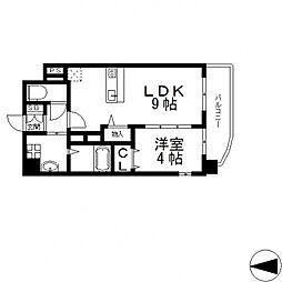 BO BEDRE KOSAKA(ボーベダーコサカ)[305号室号室]の間取り
