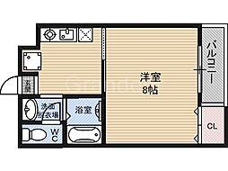 パレスエルイン[4階]の間取り