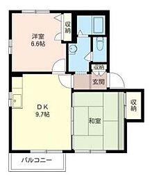 オーチャードハウス[1階]の間取り