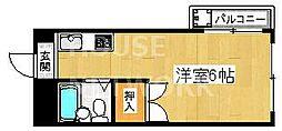西田マンション[305号室号室]の間取り