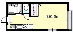クロスファームIII[101号室]の間取り