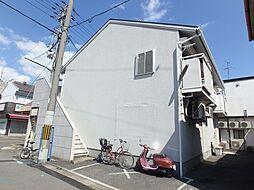 大阪府堺市堺区八幡通1丁の賃貸アパートの外観