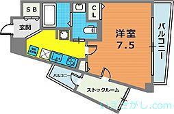 グルーブ神戸ハーバーアリーナ[7階]の間取り