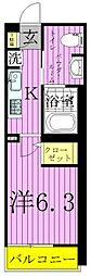 エルスタンザ東綾瀬[1階]の間取り