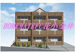 仮)東大和市南街6丁目新築マンション[2階]の外観