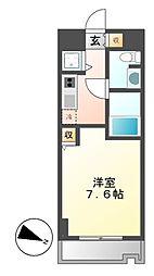 カレント新栄[4階]の間取り