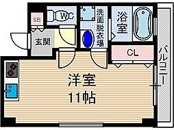 ファミーユ東館[2階]の間取り