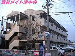 三重県津市神納町の賃貸マンションの外観