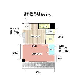 コンダクト小倉NO.1[201号室]の間取り