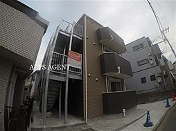 神奈川県横浜市磯子区森3丁目の賃貸アパートの外観