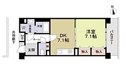 コーポレート武蔵境[3階]の間取り