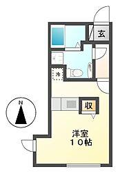 ブランシェ桜山[5階]の間取り