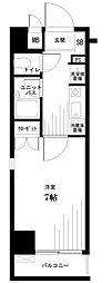東京都千代田区猿楽町2丁目の賃貸マンションの間取り