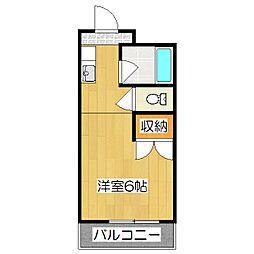 内藤マンション[3階]の間取り