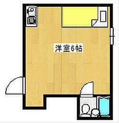 玉出ハイツ21[3階]の間取り