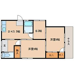 [一戸建] 静岡県静岡市清水区押切 の賃貸【/】の間取り