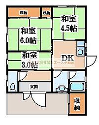 [一戸建] 大阪府堺市西区鳳西町3丁 の賃貸【/】の間取り