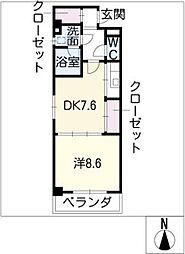 Enchante泉[3階]の間取り