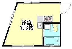 FK1128[302号室]の間取り
