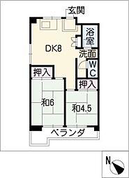 第一下林ビル[3階]の間取り
