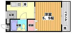 シルフィード[3階]の間取り